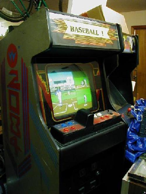 baseball arcade machine