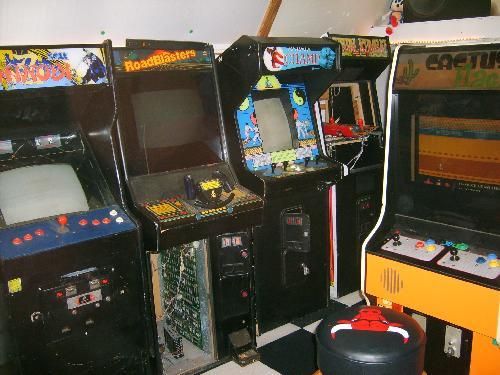 Pac Man Machine >> robohara.com -- digital archives