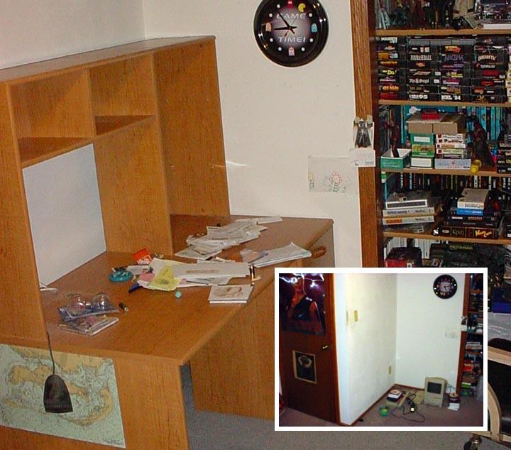 over desk shelving hostgarcia. Black Bedroom Furniture Sets. Home Design Ideas