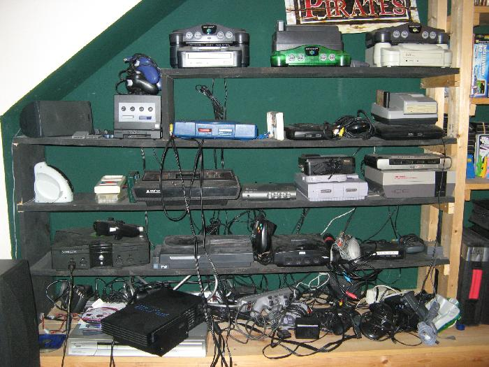 Even Before I Owned Those Three Consoles I Had At Least Twenty Other Gaming  Systems Wired Up To My Television And Ready To Play.