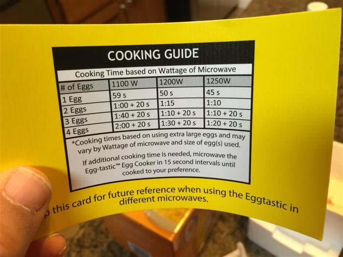 microwave egg cooker instructions